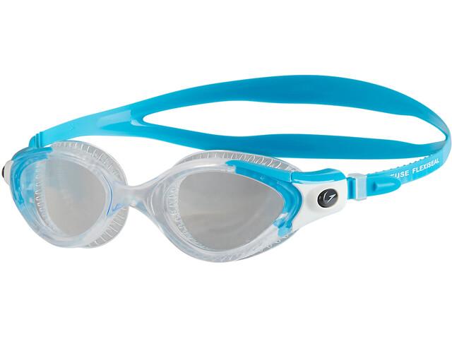 speedo W's Futura Biofuse Flexiseal Goggle Turquoise/Clear